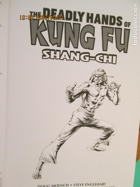 Cómics: THE DEADLY HANDS OF KUNG FU - SHANG- CHI - MARVEL LIMITED EDITIONNº 639 DE 1500 -2019 - Foto 5 - 219820853