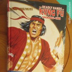 Cómics: THE DEADLY HANDS OF KUNG FU - SHANG- CHI - MARVEL LIMITED EDITIONNº 639 DE 1500 -2019. Lote 219820853