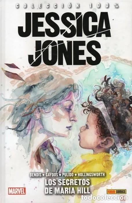 COL. 100 % MARVEL HC JESSICA JONES Nº 2 LOS SECRETOS DE MARIA HILL - PANINI - CARTONE - OFM15 (Tebeos y Comics - Panini - Marvel Comic)