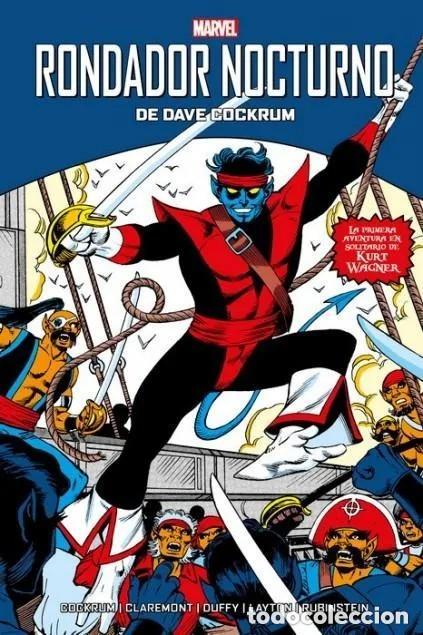 RONDADOR NOCTURNO DE DAVE COCKRUM - PANINI - CARTONE - IMPECABLE - OFM15 (Tebeos y Comics - Panini - Marvel Comic)