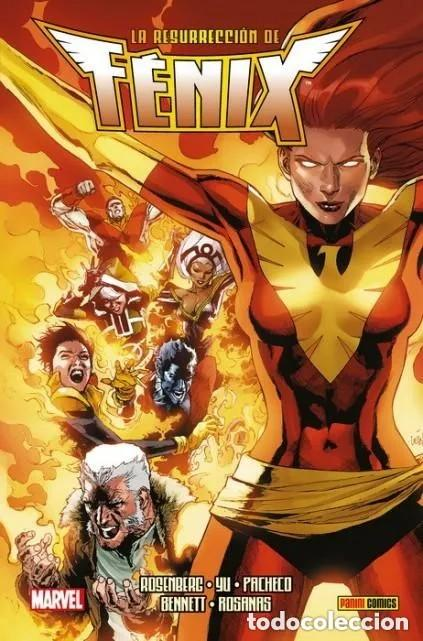 LA RESURRECCION DE FENIX - PANINI - CARTONE - IMPECABLE - OFM15 (Tebeos y Comics - Panini - Marvel Comic)