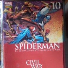 Cómics: SPIDERMAN LOMO ROJO V2 10 #. Lote 219864370