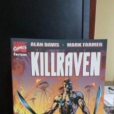 Comics: KILLRAVEN , LA GUERRA DE LOS MUNDOS. Lote 220092170