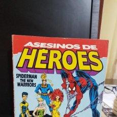 Cómics: SPIDERMAN . ASESINOS DE HEROES. Lote 220094686