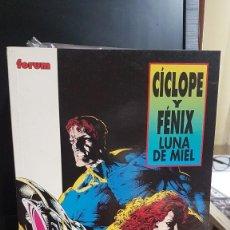 Cómics: CICLOPE Y FENIX LUNA DE MIEL. Lote 220100557