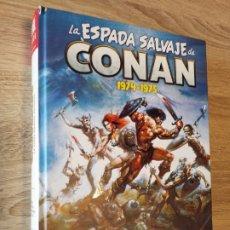Cómics: DEFECTUOSO LA ESPADA SALVAJE DE CONAN 1 1974-1975 MARVEL LIMITED EDITION MUY DIFÍCIL. Lote 220269472