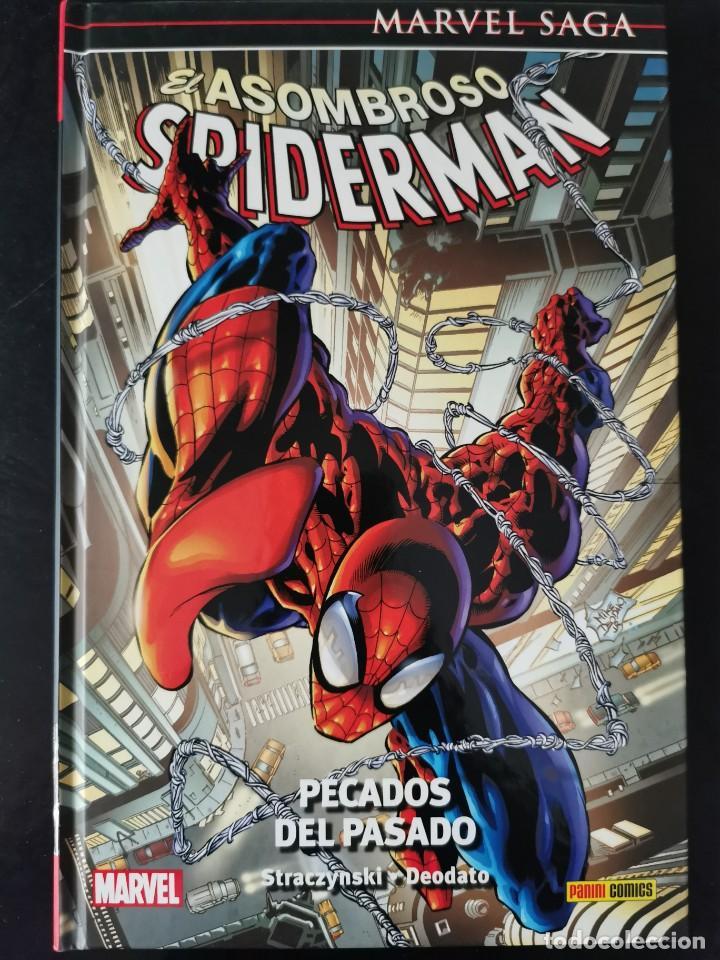 MARVEL SAGA. ASOMBROSO SPIDERMAN Nº 06: PECADOS DEL PASADO (Tebeos y Comics - Panini - Marvel Comic)