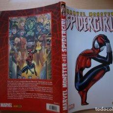 Cómics: MARVEL MONSTER - SPIDERGIRL - NÚMERO 3 - FORMATO CARTONE - PANINI COMIC - NUEVO. Lote 220921440