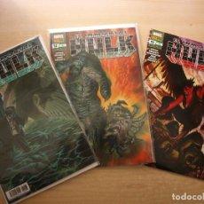 Cómics: EL INMORTAL HULK - TRES NÚMEROS, 11, 12 Y 13 - PANINI COMIC - NUEVOS. Lote 220943446