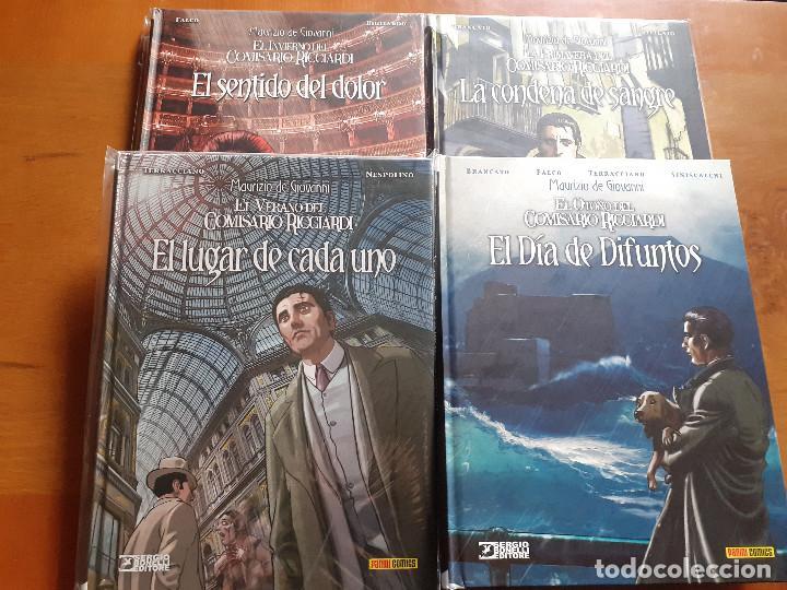 EL COMISARIO RICCIARDI. COMPLETA 1 AL 4. PANINI (Tebeos y Comics - Panini - Otros)
