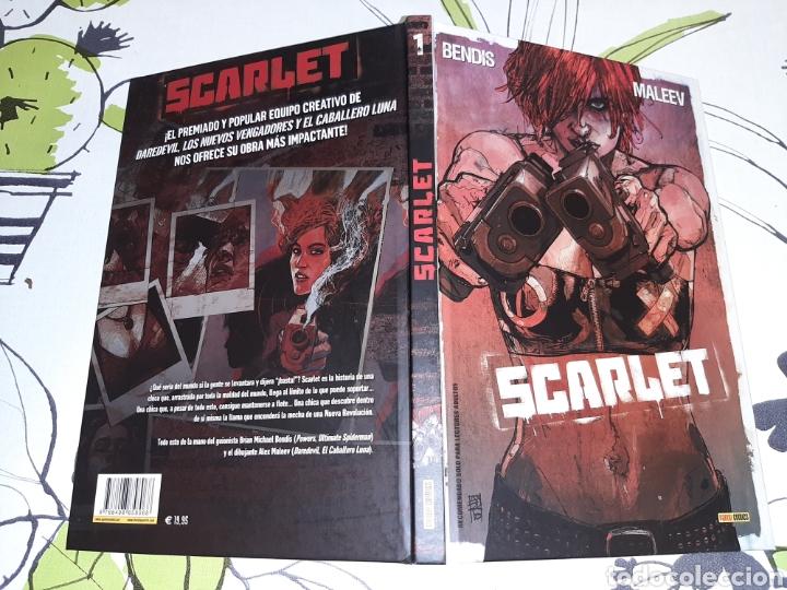 Cómics: Scarlet Panini cómics tapa dura Bendis - Foto 2 - 220995282
