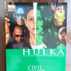 Cómics: HULKA. CIVIL WAR. PANINI. Lote 221167856
