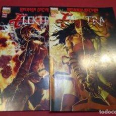 Fumetti: REINADO OSCURO ELEKTRA 2 NÚMS. COMPLETA - PANINI - IMPECABLE. Lote 221171971
