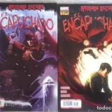 Fumetti: REINADO OSCURO EL ENCAPUCHADO 2 NÚMS. COMPLETA - PANINI - IMPECABLE. Lote 221171996