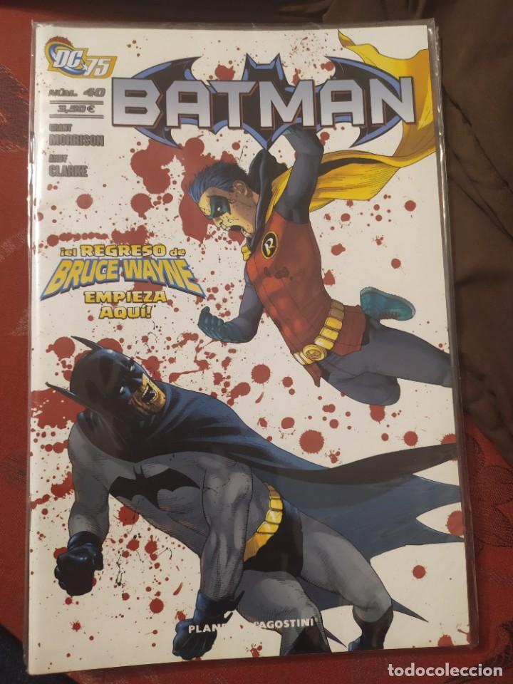BATMAN 40 EL REGRESO DE BRUCE WAYNE (Tebeos y Comics - Panini - Otros)
