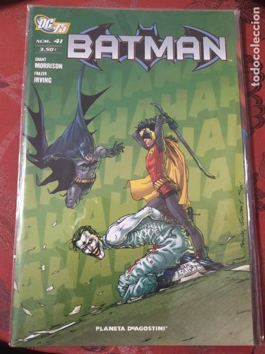 BATMAN 41 MORRISON IRVING (Tebeos y Comics - Panini - Otros)