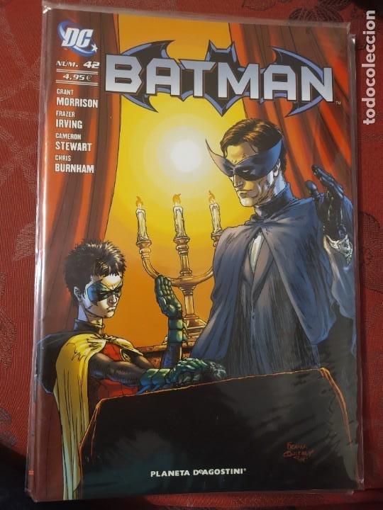 BATMAN 42 MORRISON IRVING (Tebeos y Comics - Panini - Otros)