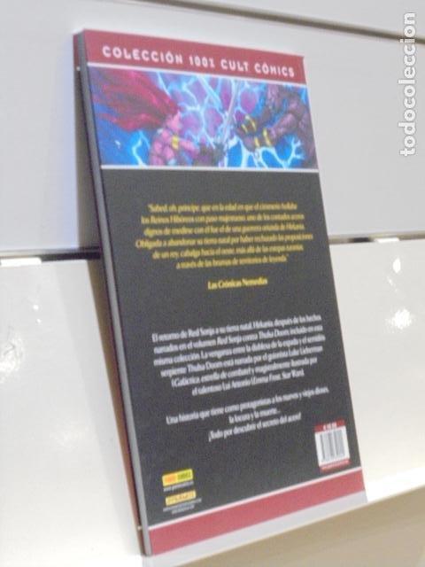 Cómics: RED SONJA EL RETORNO DE THULSA DOOM COLECCION 100% CULT COMICS - PANINI - Foto 2 - 221409200