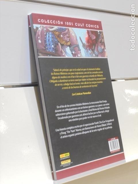 Cómics: RED SONJA LA REINA DEL YERMO HELADO COLECCION 100% CULT COMICS - PANINI - Foto 2 - 221409367
