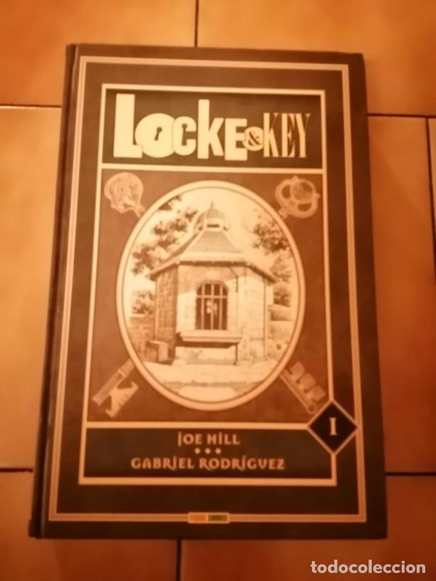 LOCKE & KEY EDICION INTEGRAL TOMO 1 DE JOE HILL Y GABRIEL RODRIGUEZ - PANINI / IDW / OMNIBUS (Tebeos y Comics - Panini - Otros)