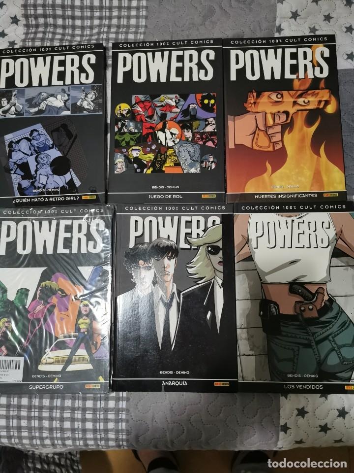 POWERS 1,2,3,4,5,6 PANINI CULT CÓMICS (Tebeos y Comics - Panini - Otros)