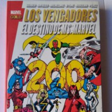 Cómics: MARVEL GOLD LOS VENGADORES - EL DESTINO DE MS MARVEL. Lote 221587360