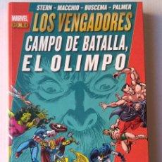 Cómics: MARVEL GOLD LOS VENGADORES - CAMPO DE BATALLA, EL OLIMPO. Lote 221587796