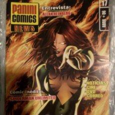 Cómics: PANINI CÓMICS NEWS 17 NÚMEROS DEL 1 AL 17. Lote 221644851
