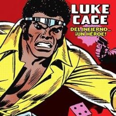 Cómics: LUKE CAGE, HEROE DE ALQUILER. DEL INFIERNO. Lote 221677998