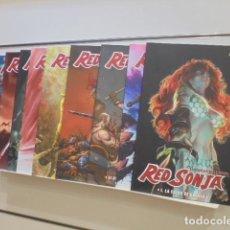 Cómics: RED SONJA COMPLETA 9 TOMOS - PANINI COMPLETA. Lote 221706703