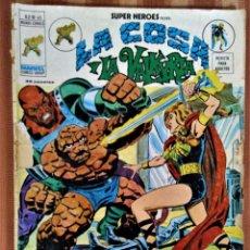 Cómics: SUPER HÉROES - LA COSA Y LA VALKYRIA - VOL. 2 - Nº 43. Lote 221718772