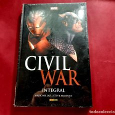 Cómics: CIVIL WAR / INTEGRAL / MARVEL -IMPECABLE ESTADO-PRECINTO ORIGINAL. Lote 221782175