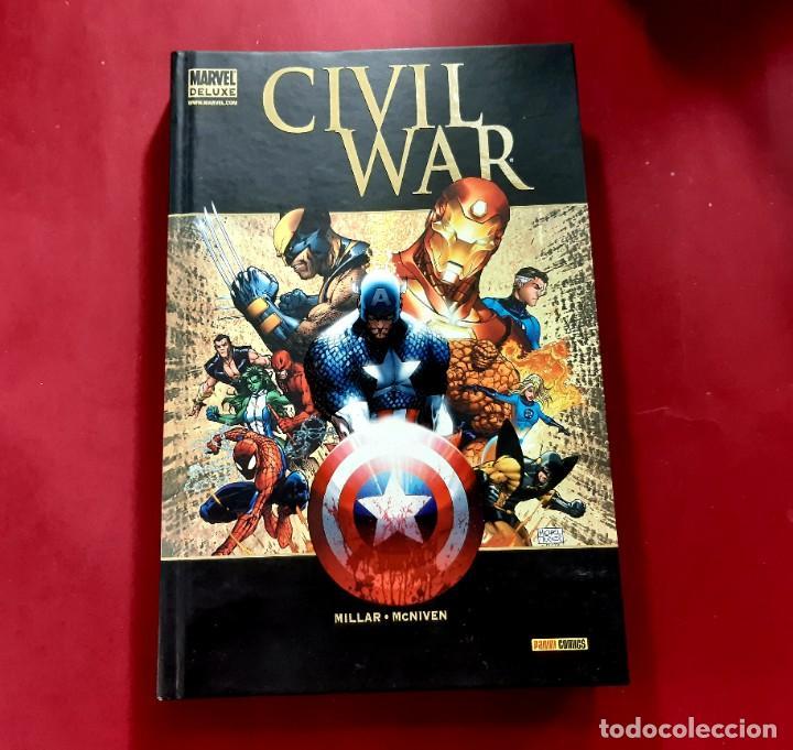 CIVIL WAR / INTEGRAL / MARVEL -IMPECABLE ESTADO- (Tebeos y Comics - Panini - Marvel Comic)