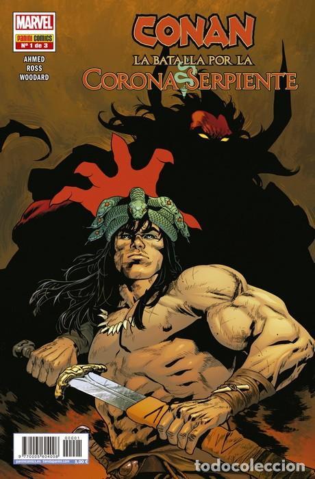 CONAN. LA BATALLA POR LA CORONA SERPIENTE 1 (Tebeos y Comics - Panini - Marvel Comic)
