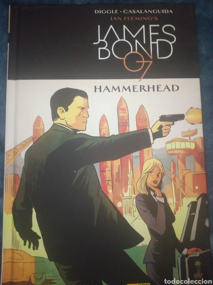 Cómics: James Bond Hammerhead Cómic en tomo Panini - Foto 1 - 221843901