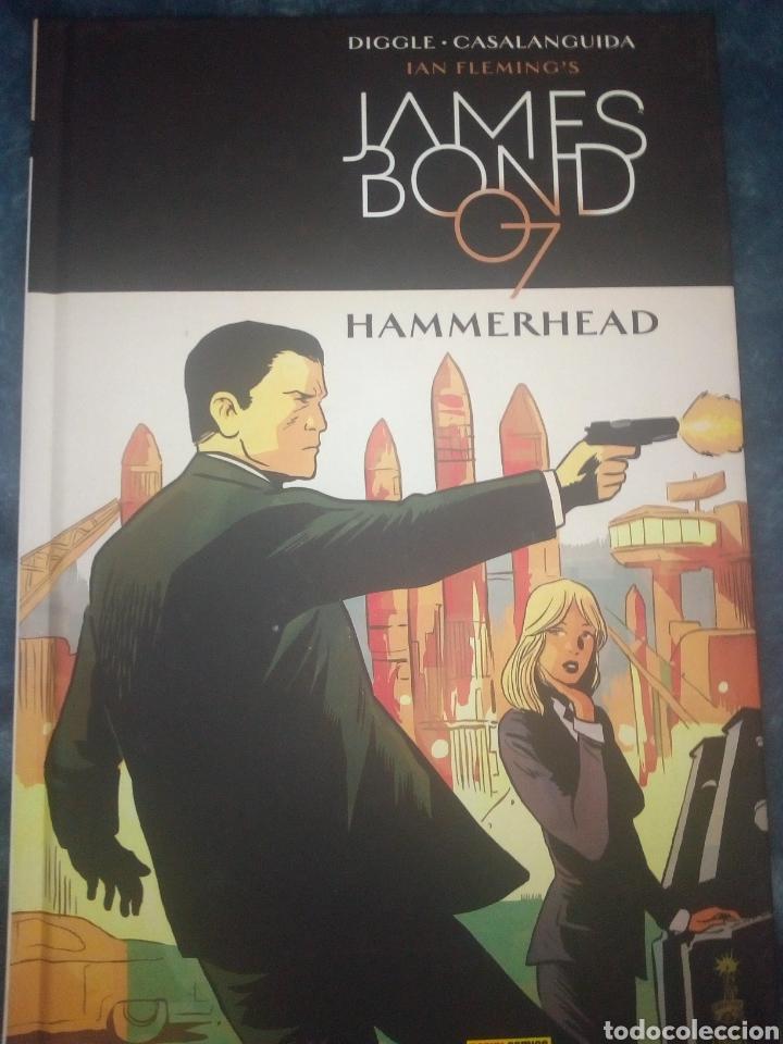 JAMES BOND HAMMERHEAD CÓMIC EN TOMO PANINI (Tebeos y Comics - Panini - Otros)