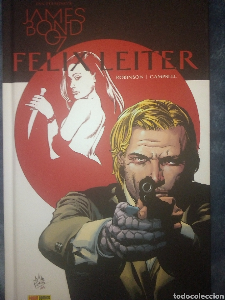 Cómics: James Bond Félix Leiter Panini - Foto 1 - 221843991
