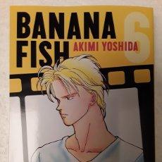 Cómics: BANANA FISH 6 - AKIMI YOSHIDA - PANINI MANGA. Lote 221863312