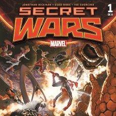 Cómics: COMIC MARVEL - SECRET WARS - 1 DE 8 - PANINI COMICS - NUEVO CON FUNDA PROTECTORA. Lote 221962277