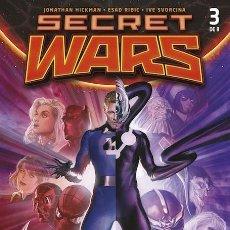 Cómics: COMIC MARVEL - SECRET WARS - 3 DE 9 - PANINI COMICS - NUEVO CON FUNDA PROTECTORA. Lote 221962300