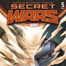 Cómics: COMIC MARVEL - SECRET WARS - 5 DE 9 - PANINI COMICS - NUEVO CON FUNDA PROTECTORA. Lote 221962457