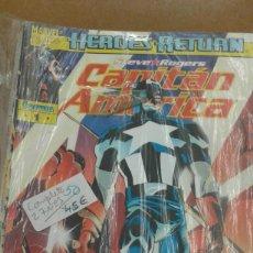 Cómics: COLECCION COMPLETA DE COMICS MARVEL CAPITAN AMNERICA DE STEVE ROGERS 27 NºS. Lote 222016895