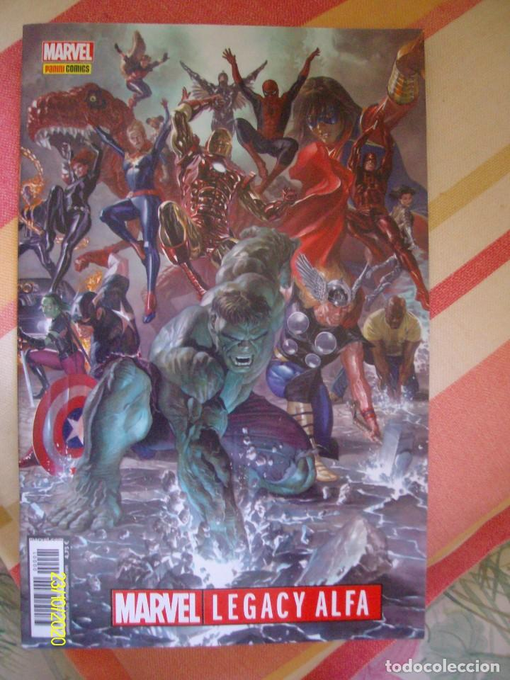 MARVEL LEGACY ALFA Nº 1 PANINI ES EN CASTELLANO (Tebeos y Comics - Panini - Marvel Comic)