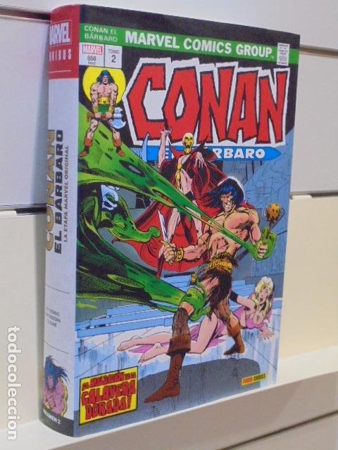 CONAN EL BARBARO OMNIBUS Nº 2 - PANINI OFERTA (Tebeos y Comics - Panini - Marvel Comic)