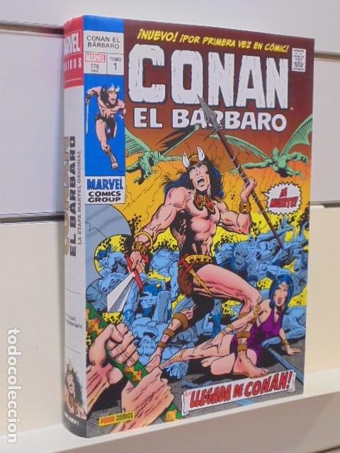 CONAN EL BARBARO OMNIBUS Nº 1 - PANINI OFERTA (Tebeos y Comics - Panini - Marvel Comic)