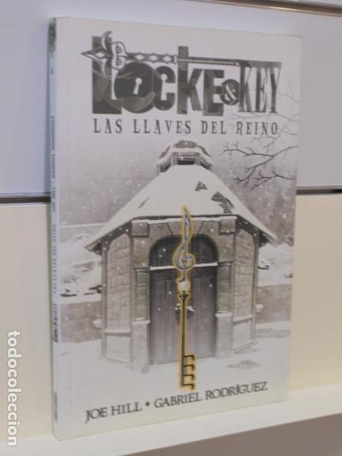 LOCKE & KEY Nº 4 LAS LLAVES DEL REINO - PANINI (Tebeos y Comics - Panini - Marvel Comic)