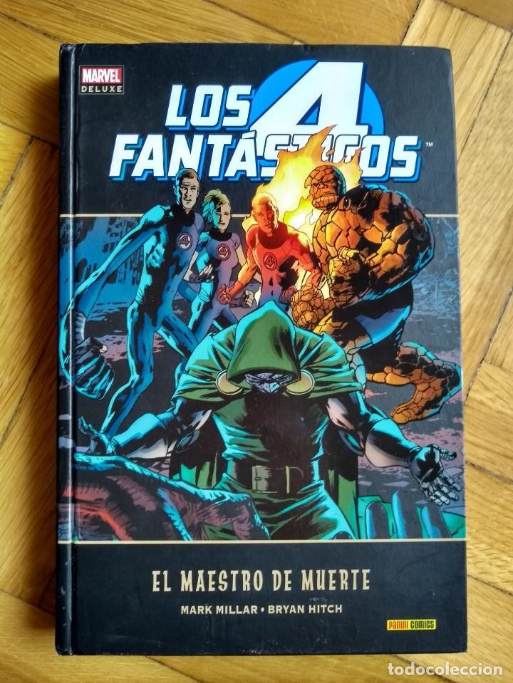 LOS 4 FANTÁSTICOS: EL MAESTRO DE MUERTE - MARVEL DELUXE (Tebeos y Comics - Panini - Marvel Comic)