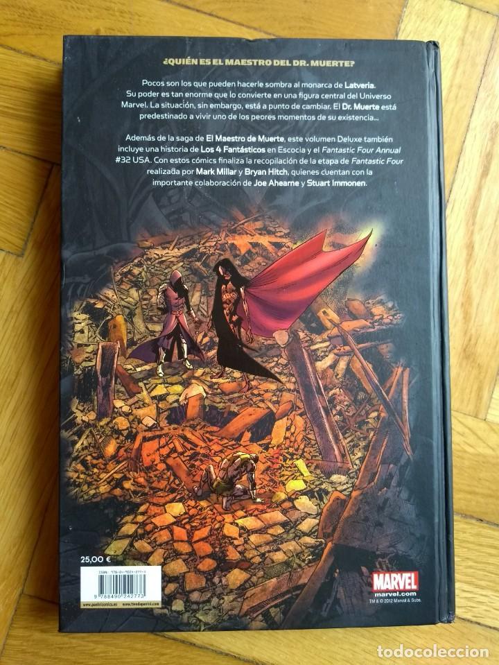 Cómics: Los 4 Fantásticos: El Maestro de Muerte - Marvel Deluxe - Foto 3 - 222058980