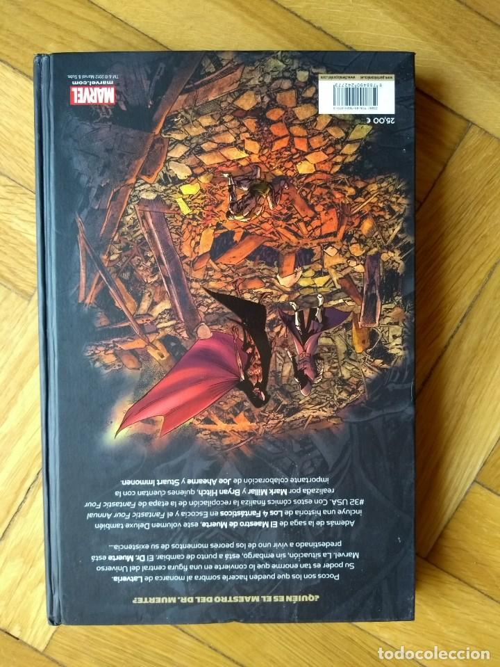 Cómics: Los 4 Fantásticos: El Maestro de Muerte - Marvel Deluxe - Foto 9 - 222058980