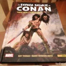 Cómics: CONAN BIBLIOTECA CONAN Nº1 CLAVOS ROJOS Y OTROS RELATOS BARRY WINDSOR SMITH Y OTROS PANINI. Lote 222084406